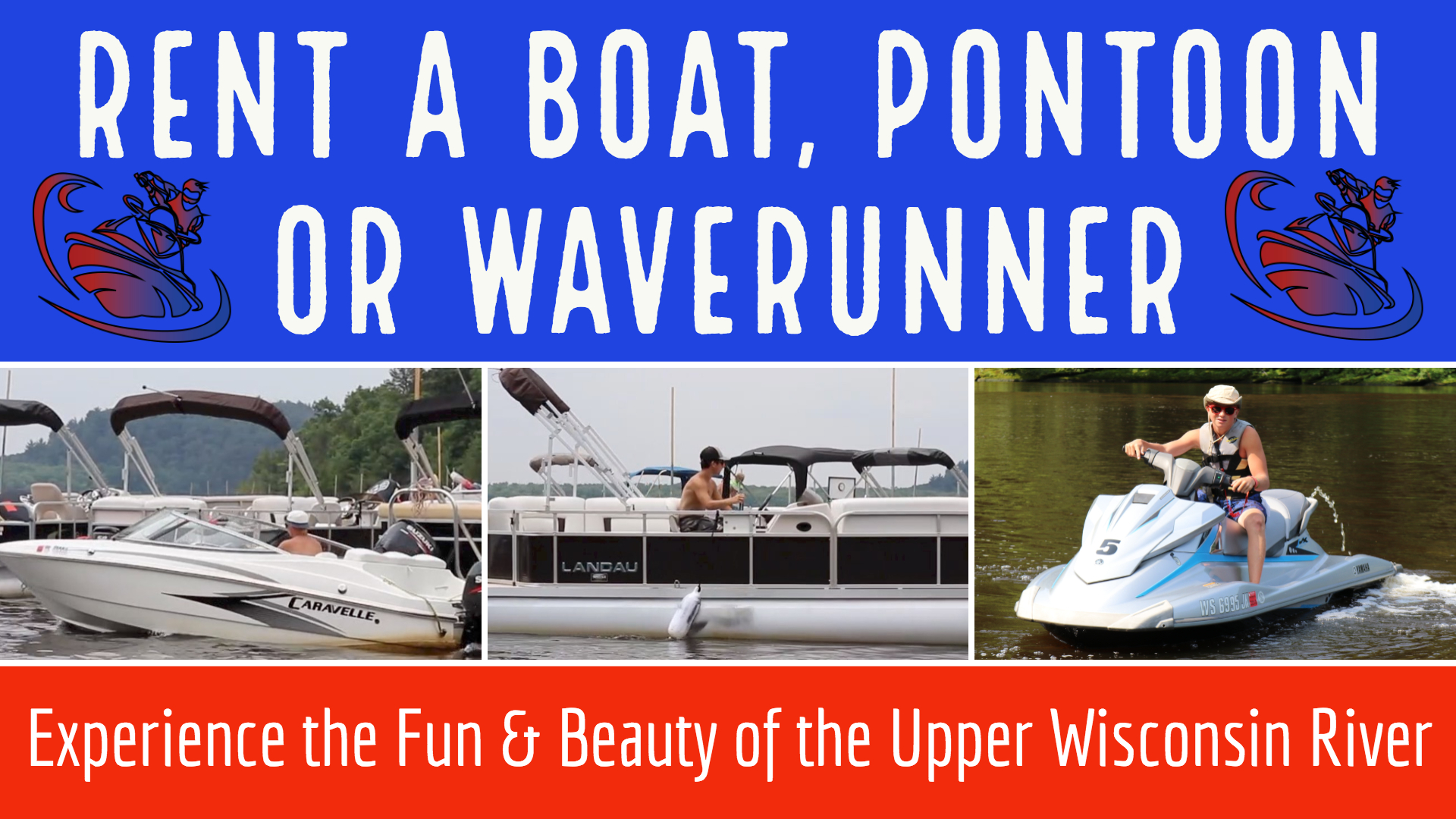 Home - Holiday Shores Wisconsin Dells Pontoon, WaveRunner & Boat Rentals